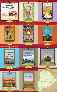 The No.1 Ladies Detective Agency novels by Alexander McCall Smith. excellent, superlative, the best ... can't say enough wonderful things about this series