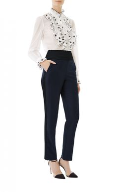 Anthea Tux Trousers | Tailored Trousers | Temperley London - Sleek and…