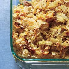 Tuna Noodle Casserole with Leeks and Fresh Dill