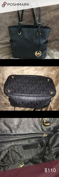 076e5b5fb2a1d1 Michael Kors Tote Black Michael kors tote. 100% AUTHENTIC. Only used once,