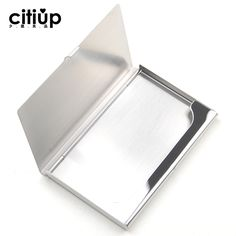 Fashion Business Cards, Steel Gifts, Business Card Case, Card Stock, Metal, Box, Paper Board, Metals, Boxes