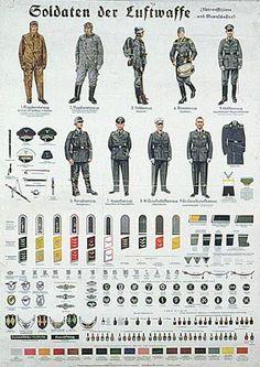 uniormes allemands seconde guerre mondiale - Recherche Google