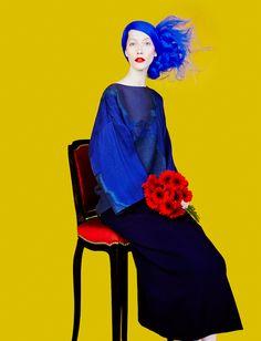 Alana Zimmer in 'Drole Doiseau' by Erik Madigan Heck for Numéro #156, September 2014.