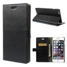 Köp Plånboksfodral Apple iPhone 6 Plus/6S Plus svart online: http://www.phonelife.se/planboksfodral-apple-iphone-6-plus-6s-plus-svart