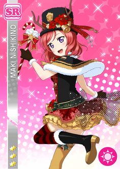 #742 Nishikino Maki SR idolized