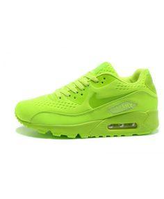 quality design e69cb 9c417 Femme Nike Air Max 90 Em Vert Chaussures