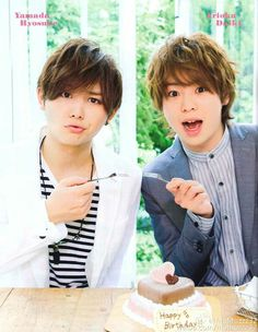 Arioka Daiki & Yamada Ryosuke  hey say jump