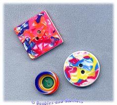 3 Lea Stein Buttons