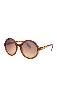 Women's Round Plastic Sunglasses on HauteLook