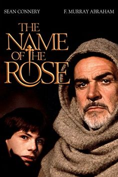 """The Name Of The Rose"" starring Sean Connery, released on September 24, 1986. John Lone, Christian Slater, Thriller Books, Mystery Thriller, Film Serie, Best Actor, Sean Connery, Murder Mysteries, Sherlock Holmes"