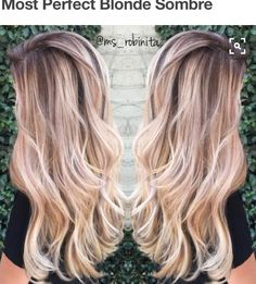 Light Brown Hair with Perfect Blonde Sombre with Loose Waves/Curls. Blonde Sombre, Brown Blonde Hair, Balayage Hair, Ombre Hair, Blonde Color, Balayage Color, Haircolor, Blonde Brunette, Perfect Blonde