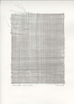 zahidmovla:  zahid mövla, cheesecloth study #2, pen on paper, 42...