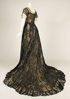 ~Evening dress, 1906-08, American~