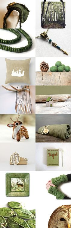 A walk in the forest by Tyson on Etsy--Pinned with TreasuryPin.com