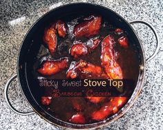 This easy Sticky Sweet Stove Top Barbecue Chicken recipe will be a hit with everyone who tries it. It's tender, juicy, and delicious.