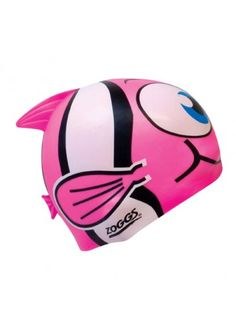 Zoggs Character Silicone Cap - Pink  --> LOVE IT :)  Unfortunately, it's only junior size :/