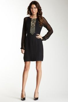 Antik Batik Darie Dress » Love this, great little black dress!