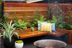 Build a bench seat and planter box