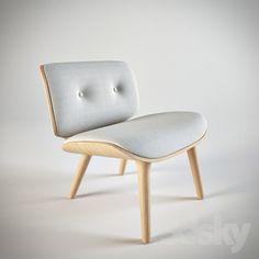 Mooi Nut Lounge Chair