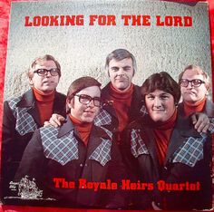 Yet another Gospel quartet. These handsome guys hail from Butts, Missouri. Worst Album Covers, Cool Album Covers, Rock & Pop, Bad Album, Pochette Album, Lp Cover, Cover Art, Best Albums, Weird And Wonderful