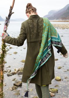 """""""Gry"""" shawl in eco-cotton – Norway – GUDRUN SJÖDÉN – Webshop, mail order and boutiques 