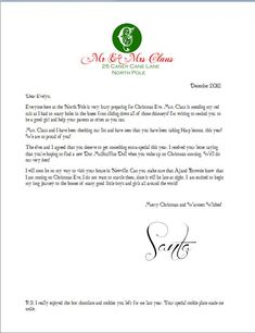 This is the BEST free printable Santa letterhead and envelope download