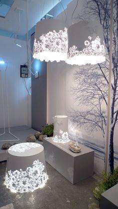 icu ~ The Lamp Homemade Lighting, Diy Design, Christmas Lights Inside, Contemporary Lamp Shades, Diy Luminaire, Shabby Chic Frames, Diy Chandelier, Diy Bottle, Diy Candles
