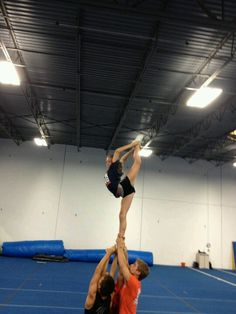 Cheerleading - Pride Cheer needle this is me!!! No literally my mom toke this pic and put it on pinterst