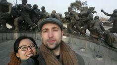 En el Parque de la Guerra después de haber grabado un vídeo nuevo  #videomarketing