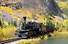 SmarterTravel picked the Durango & Silverton Narrow Gauge Railroad as one of the 10 best trains in North America for fall foliage! Put it on your bucket list!