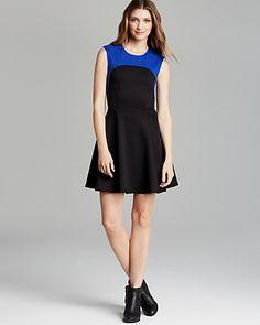 AQUA Dress - Color Block | Bloomingdale's
