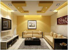 100 False Ceiling Designs For Living Room - Home and Garden