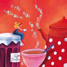 Un sorriso luminoso, un buongiorno affettuoso, una piccola attenzione e un buon caffè rendono piacevole qualsiasi giornata. (Marina Maiello)