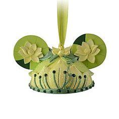 Tiana Ear Hat Ornament | Disney Store