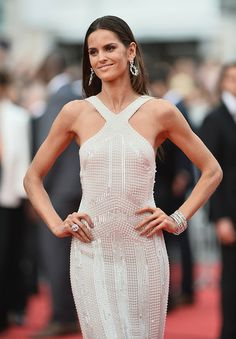 """Izabel Goulart attends """"The Search"""" premiere during the 67th Annual Cannes Film Festival"""
