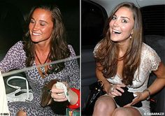 Pippa, pic on right:  Kate...
