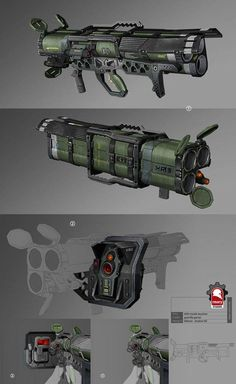 Triple-barrel rocket launcher