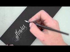 Flourish - Modern Calligraphy Demo Videos
