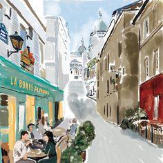 OUI, PARIS!  Paris is the 10th stop on the #FerragamoEscape, where the MTO Driver strolls through the intimate walkways of La Ville Lumière. Jet set to http://driver.ferragamo.com.