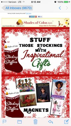 #StockingStuffers #StockingStuffersForAdults #InspirationalGifts #ChristmasGifts #AfricanAmericanGifts #Christmas #ChristmasIdeas #Christmas2017 #SmallGifts