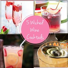 Thirsty Thursday: 5 Wicked Wine Cocktails | GirlsGuideTo