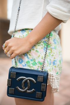 Gal Meets Glam Chanel Bag