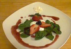 Unbreakable Mixed Berry Vinaigrette!!  http://www.moleculargastronomynetwork.com/239-recipes/Spinach-Salad-with-Unbreakable-Mixedberry-Vinaigrette-and-Yogurt-Spherification.html