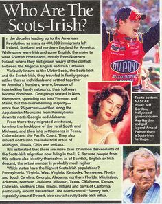 Who Are The Scotch Irish | Click Here for Pullout: Who are the Scots-Irish?