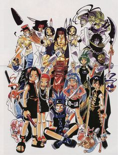 Shaman King- first anime I've ever seen and first manga I've ever read :D the beginning of my Japan love