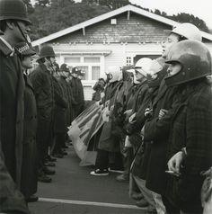 Ans Westra : Newtown, Wellington 1981. Anti-Springbok demonstration