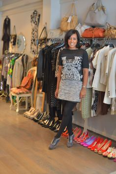 Boutiques are a great source for trendy clothing to sell at the clothing store you are representing.