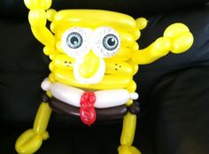 How to Make a Balloon Spongeguy Parody