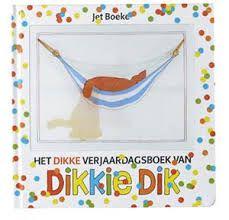 Afbeeldingsresultaat voor het dikke verjaardagsboek van dikkie dik