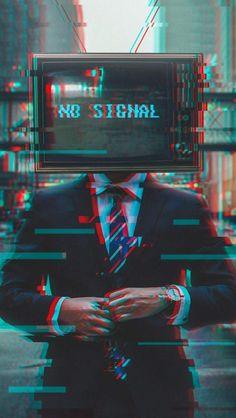 No Signal Iphone Wallpaper Free – GetintoPik Glitch Wallpaper, Hacker Wallpaper, Tumblr Wallpaper, Tv Head, Arte Cyberpunk, Dark Photography, Glitch Art, Retro Aesthetic, Aesthetic Wallpapers